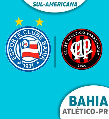 Bahia X Atlético-PR