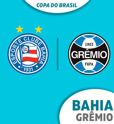 Bahia X Grêmio - Entrada permitida à partir das 17h15