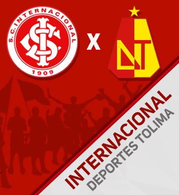 Internacional X Deportes Tolima