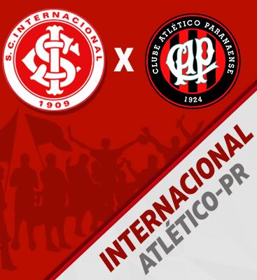 Internacional X Atlético-PR