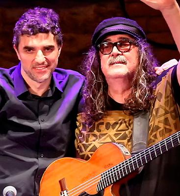 Moraes Moreira e Davi Moraes