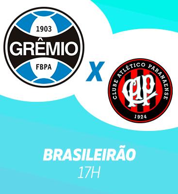 Grêmio X Athético-PR