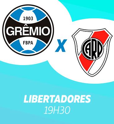Grêmio X River Plate