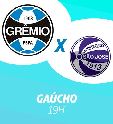 Grêmio X São José-RS