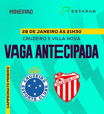 Cruzeiro X Villa Nova - Entrada à partir das 18h30