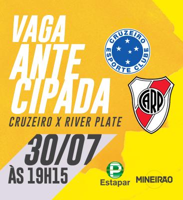 Cruzeiro X River Plate - Entrada permitida à partir das 16h15