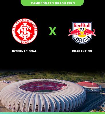 Internacional x Bragantino