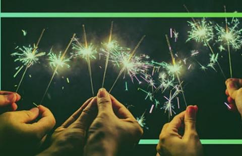 Ano novo feliz 2021