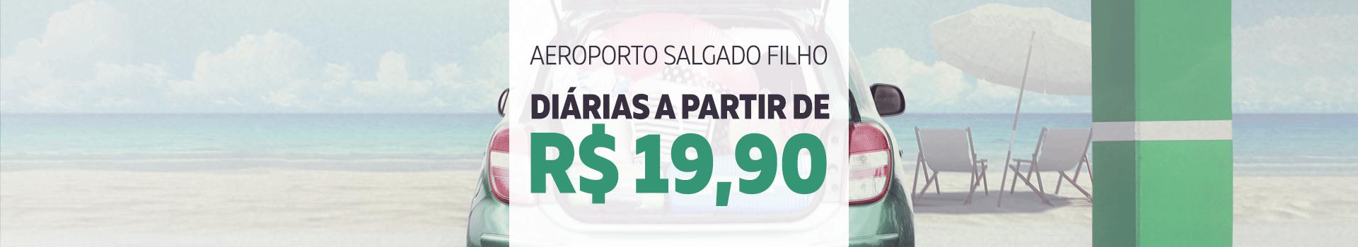 Diárias a partir de R$19,90 no estacionamento oficial do Aeroporto Salgado Filho em Porto Alegre.